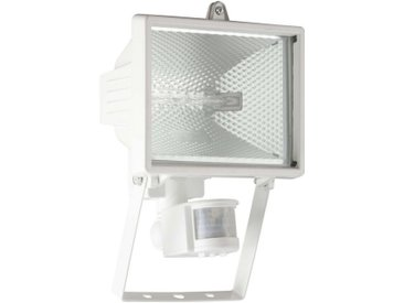 Brilliant Leuchten Tanko Außenwandstrahler 25cm Bewegungsmelder weiß, weiß, weiß