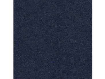 Teppichfliese »Madison blau«, 4 Stück (1 m²), selbstliegend, blau, blau
