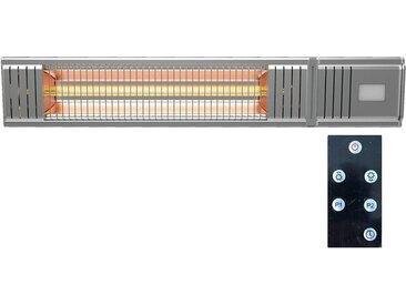 MILLARCO Heizstrahler 58630 Terrassen-Heizgerät mit Fernbedienung Wärmestrahler zur Wandmontage