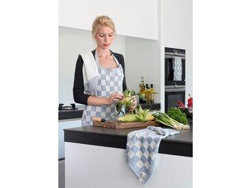 Knit Factory Tischdecke »Küchentuch Block Ecru/Khaki«
