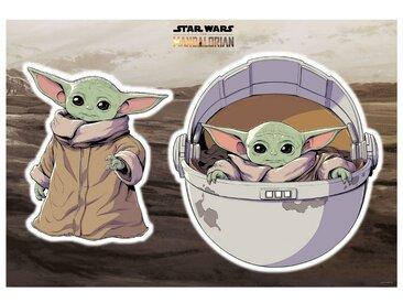 Komar Wandsticker »Star Wars The Child« (2 Stück)