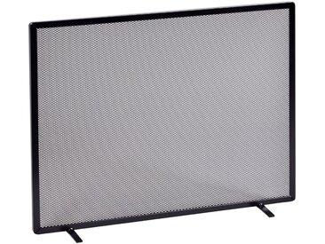 Firefix FIREFIX Funkenschutzgitter mit Gittergeflecht, 65 x 52 cm, schwarz, schwarz