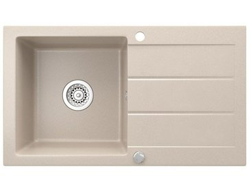 Bergstroem Küchenspüle »Spüle Einbauspüle Spülbecken Granit Beige 440x760mm«