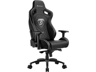 Sharkoon Gaming-Stuhl »SKILLER SGS4 Gaming Chair«, schwarz, Schwarz
