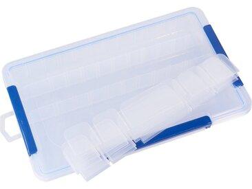 VBS Aufbewahrungsbox, Kunststoff, mit variabler Einteilung, 35 cm x 5 cm