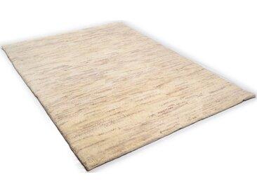 THEKO Wollteppich »Tanger 1«, rechteckig, Höhe 20 mm, echter Berber, naturbelassene Wolle, handgeknüpft, natur, natur-grau