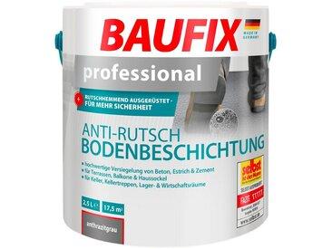 Baufix Acryl Flüssig Kunststoff »Professional«, Anti-Rutsch-Bodenbeschichtung, anthrazitgrau, 2,5 l, schwarz, 2.5 l, schwarz