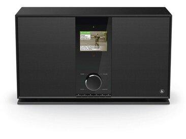 Hama Internetradio Digitalradio DIR3605MSBT mit 2.1 Soundsystem »WLAN/Multiroom/Bluetooth/DAB«, schwarz, Schwarz