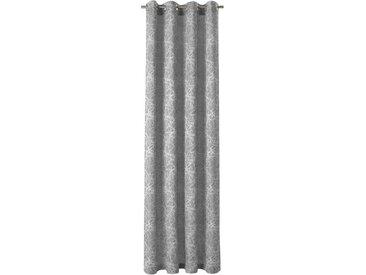 Neutex for you! Vorhang »Stella«, Ösen (1 Stück), Ösenschal mit 8 Metallösen, grau, anthrazit