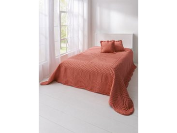 heine home Tagesdecke effektvolle Steppung, orange, orange