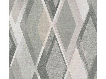 living walls Vliestapete »Pop Colors«, grafisch, geometrisch, natur, beige-grau