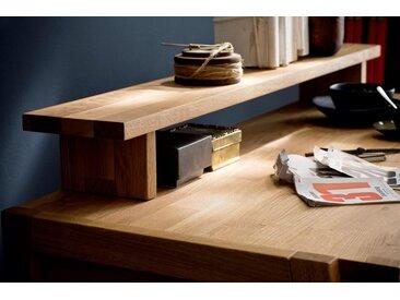 Home affaire Tischaufsatz »Dura«, aus schönem massivem Wildeichenholz, passend zum Schreibtisch mit dem Seriennamen Dura