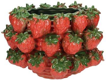 Engelnburg Übertopf » Blumentopf Übertopf Blumengefäß Erdbeer«