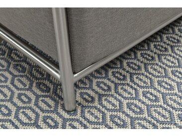 GMD Living Outdoorteppich »ECLIPS«, rechteckig, Höhe 5 mm, In- und Outdoor geeignet, grau, grau
