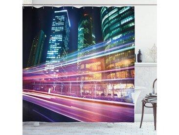 Abakuhaus Duschvorhang »Moderner Digitaldruck mit 12 Haken auf Stoff Wasser Resistent« Breite 175 cm, Höhe 180 cm, Stadt Moderne Fotografie Shanghai