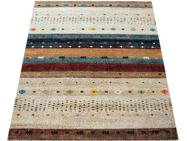 Paco Home Teppich »Nomaden 815«, rechteckig, Höhe 18 mm, Kurzflor mit Gabbeh-Optik, Wohnzimmer