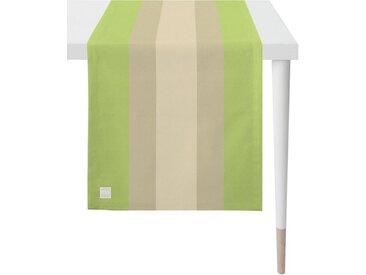 APELT Tischläufer »3962 Outdoor« (1-tlg), Panamastreifen, grün, grün