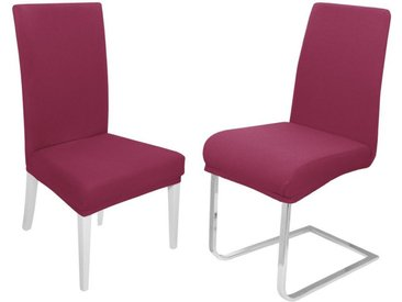 Moderno Biertischhusse »Stuhlhusse elastische Stuhlhussen Stretch«, rot, Rot