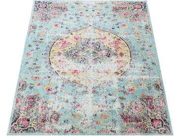 Paco Home Teppich »Artigo 401«, rechteckig, Höhe 4 mm, Kurzflor, Vintage Design, In- und Outdoor geeignet