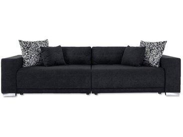 COLLECTION AB Big-Sofa, schwarz, XXL, schwarz