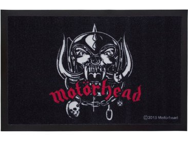 Mr. Ghorbani Teppich »Motörhead Logo 60 x 40 Türmatte«, Rechteckig, Höhe 3 mm