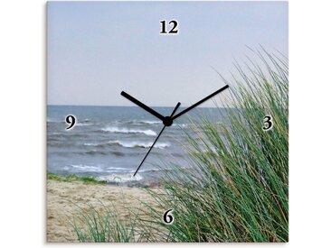 Artland Wanduhr »Raue See mit Dünen«, Quarzuhr