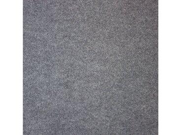 Teppichfliese »Madison grau«, 20 Stück (5 m²), selbstliegend, grau, grau