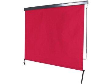 MCW Senkrechtmarkise »-F42« UV-Schutz 50, Windklasse 2, rot, bordeaux-rot