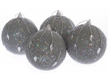 Weihnachtsbaumkugel »Prismen« (8 Stück)