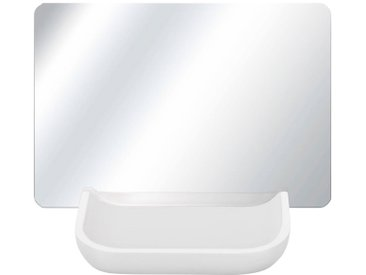Kleine Wolke Kosmetikspiegel »Tray Mirror«, rutschsicher, weiß, weiß