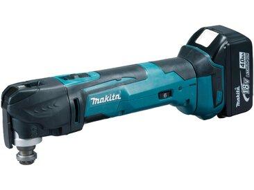 Makita MAKITA Akku-Multifunktionswerkzeug »DTM51RT1J3 / DTM51Y1JX8 / DTM51Z«, 18 V, blau, 0 Ah, Ohne Akku, blau
