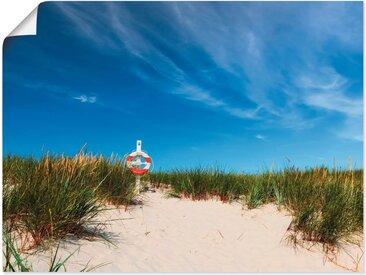 Artland Wandbild »Dünen am Meer«, Strand (1 Stück), Poster