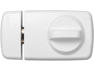 ABUS Türzusatzschloss »Door Lock 7010 W B/DFNLI«, Verriegelung innen mit Drehknauf, außen mit Schlüssel, weiß, weiß