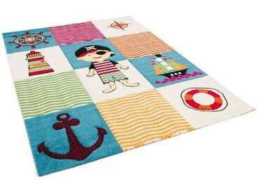 Pergamon Kinderteppich »Kinder Teppich Savona Kids Piratenwelt«, Höhe 13 mm