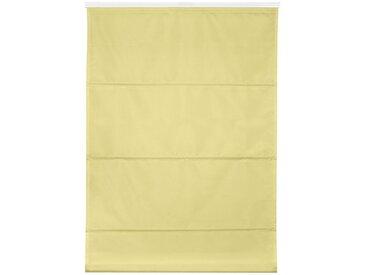 LICHTBLICK Raffrollo »Top verspannt ohne Bohren im Festmaß«, mit Klemmträger, ohne Bohren, verspannt, im Festmaß, gelb, gelb