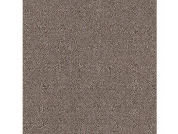 Teppichfliese »Jersey«, quadratisch, Höhe 3 mm, selbstliegend, braun, 4 St., SL 700 camel