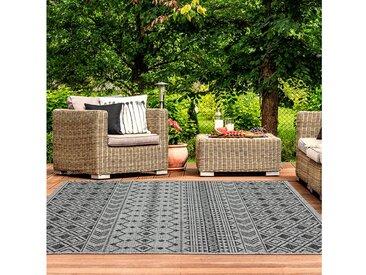 TEPPIA Outdoorteppich »ILLUSION 22161A«, rechteckig, Höhe 5 mm, Kurzflor, In- und Outdoor geeignet