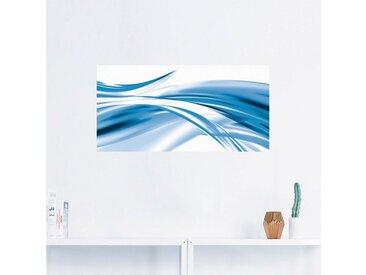 Artland Wandbild »Schöne Welle - Abstrakt«, Gegenstandslos (1 Stück), in vielen Größen & Produktarten - Alubild / Outdoorbild für den Außenbereich, Leinwandbild, Poster