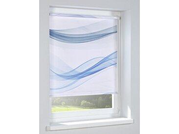 heine home Rollo bedruckt bedruckt bedruckt, weiß, weiß/blau