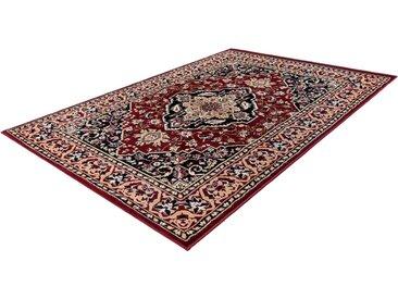 LALEE Teppich »Kairo 301«, rechteckig, Höhe 14 mm, Orient Optik, Kurzflor, rot, rot