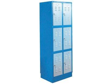 Güde GÜDE Werkzeugschrank »TYP 6F«, (B/T/H/): 60x50x180 cm, blau, Türanschlag rechts, blau