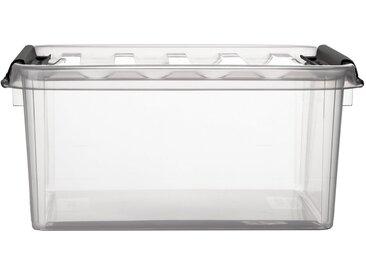 Orthex Stapelbox »Stapelbare Box Smart Store Classic 10 transparent mit Deckel & Klickverschluss« (1 Stück), 1 St.