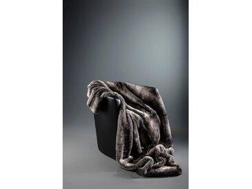 Star Home Textil Wohndecke »Zobel«, aus besonders weichem Webpelz, grau, grau