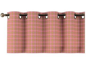 Dekoria Vorhang, rosa-grün