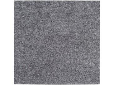 Andiamo ANDIAMO Teppichfliese »Skandi Nadelfilz«, 50 Stück (8 m²), selbstklebend, grau, grau
