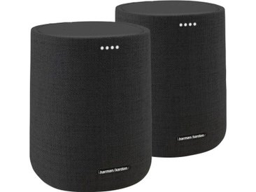 JBL Citation ONE DUO Smart Speaker (WLAN, Bluetooth, 40 W), schwarz, schwarz