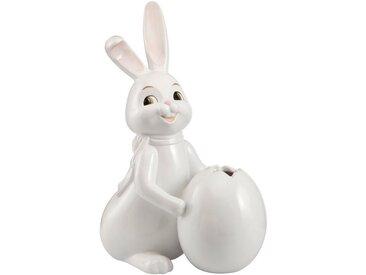"""Goebel Sammelfigur »Hase Snow White """"Little Spring""""« (1 Stück), mit Vase, Höhe ca. 30 cm"""
