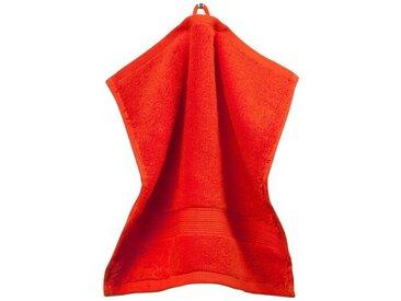grace grand spa Waschlappen »3er-Pack« (3-tlg), mit breiter Webbordüre, rot, rot