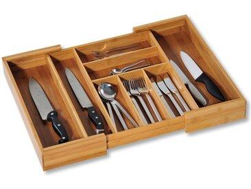 KESPER for kitchen & home Besteckkasten, variabel ausziehbar, Bambus