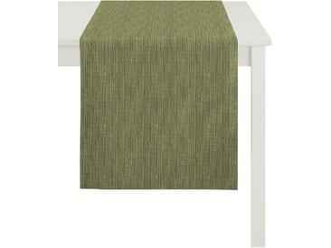 APELT Tischläufer »Avalon, Uni-Basic« (1-tlg), grün, grün-gelb